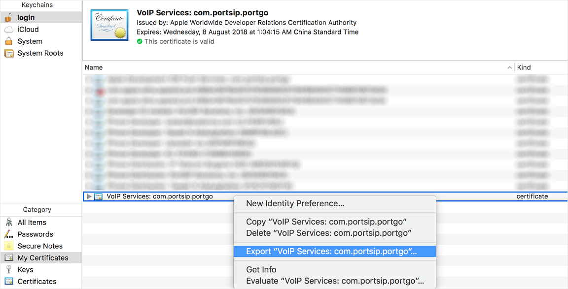 PortSIP PBX support send PUSH notifications to mobile